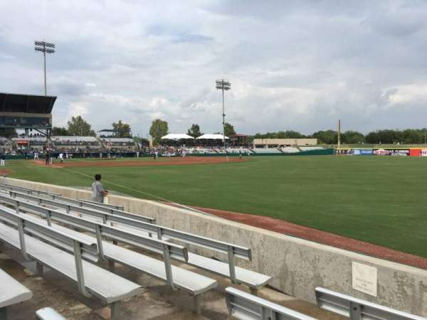 Nelson W. Wolff Municipal Stadium, section: 124, row: G, seat: 4
