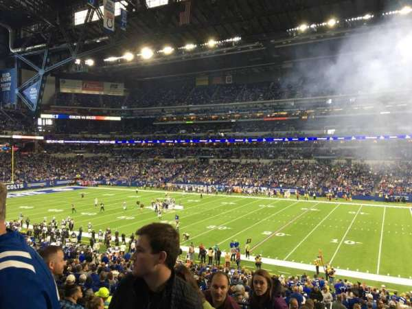 Lucas Oil Stadium, section: 236, row: 6, seat: 24