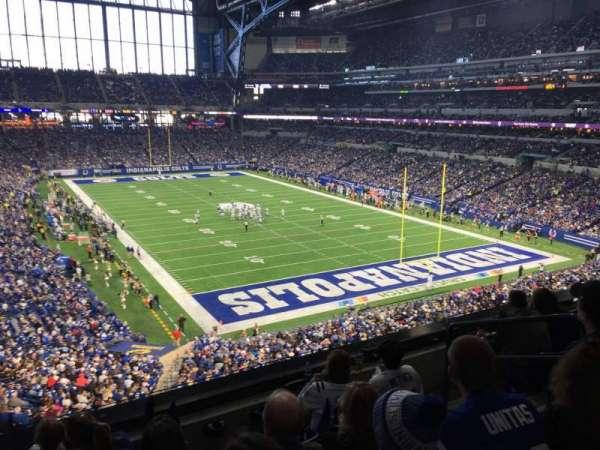 Lucas Oil Stadium, section: 330, row: 4, seat: 6