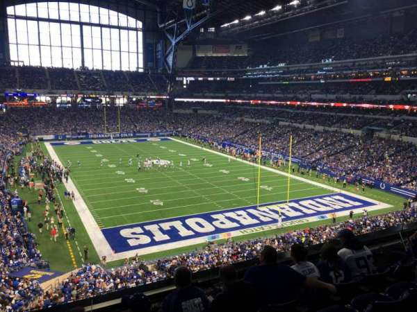 Lucas Oil Stadium, section: 329, row: 4, seat: 20