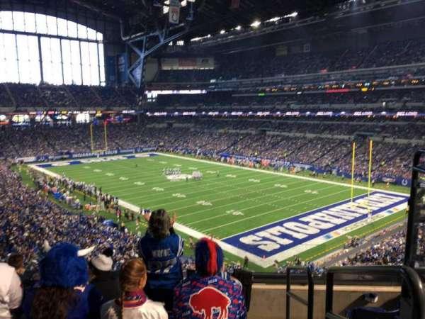 Lucas Oil Stadium, section: 333, row: 5, seat: 1