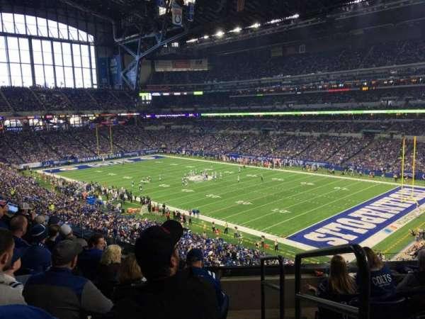 Lucas Oil Stadium, section: 334, row: 5, seat: 1