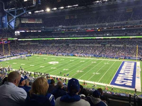 Lucas Oil Stadium, section: 336, row: 5, seat: 1