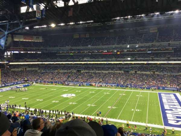 Lucas Oil Stadium, section: 337, row: 5, seat: 1