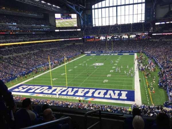 Lucas Oil Stadium, section: 324, row: 4, seat: 20