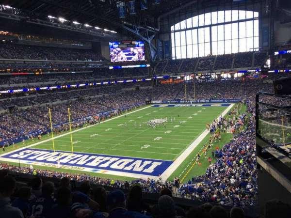 Lucas Oil Stadium, section: 324, row: 4, seat: 2