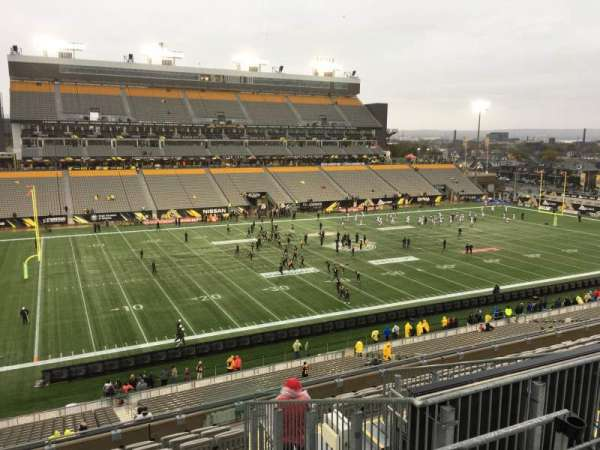 Tim Hortons Field, section: 218, row: 12, seat: 5