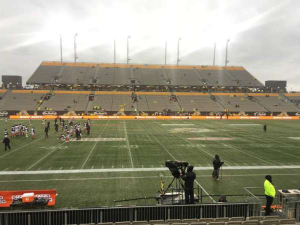 Tim Hortons Field, section: 106, row: 11, seat: 10