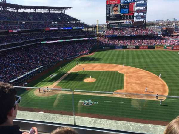 Citizens Bank Park, section: 315, row: 2, seat: 5