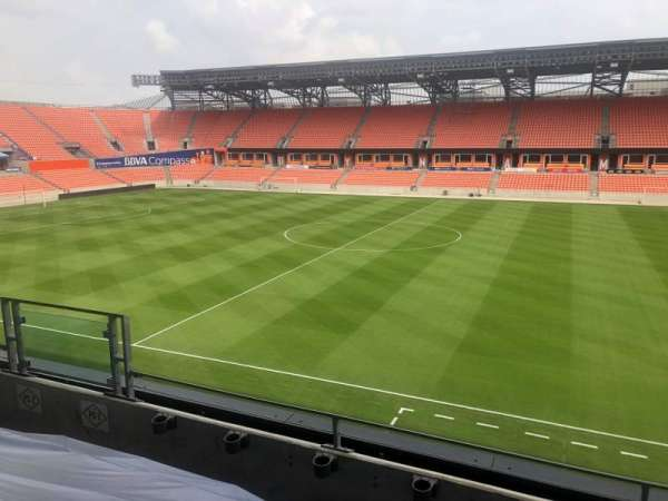 BBVA Compass Stadium , section: PC1