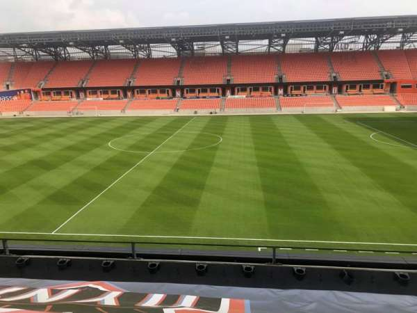 BBVA Compass Stadium , section: PC2