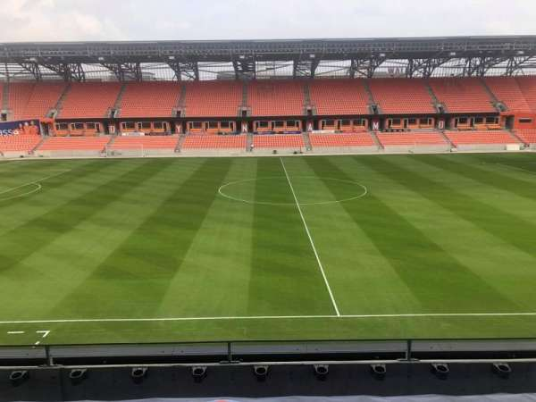 BBVA Compass Stadium , section: PC4