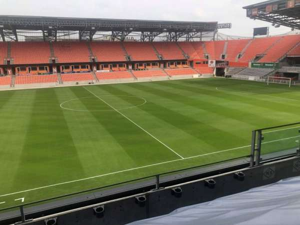 BBVA Compass Stadium , section: PC5