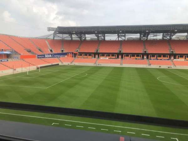 BBVA Compass Stadium , section: PC6