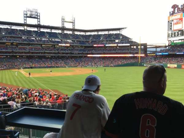 Citizens Bank Park, section: 107, row: Sro