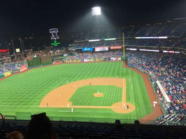 Citizens Bank Park, section: 424, row: 11, seat: 11