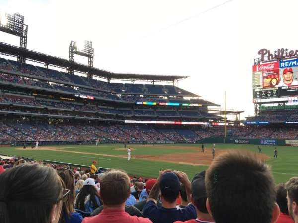 Citizens Bank Park, section: 113, row: 17, seat: 6