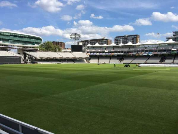 Lord's Cricket Ground, section: Grandstand B, row: 2, seat: 77
