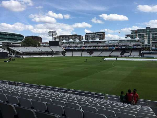 Lord's Cricket Ground, section: Grandstand B, row: 11, seat: 62