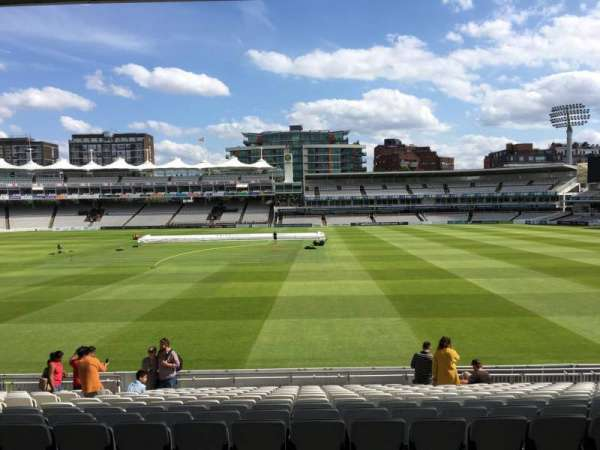 Lord's Cricket Ground, section: Grandstand B, row: 14, seat: 54