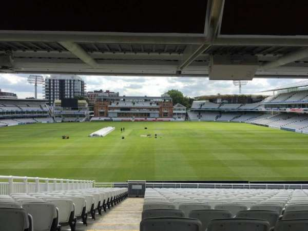 Lord's Cricket Ground, section: J, row: V, seat: 59