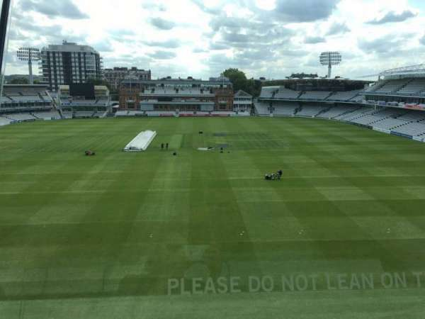 Lord's Cricket Ground, section: Media Center, row: 1, seat: 26