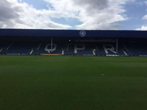 Loftus Road, section: Player Box