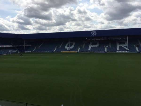 Loftus Road, section: C Club, row: Aa, seat: 2