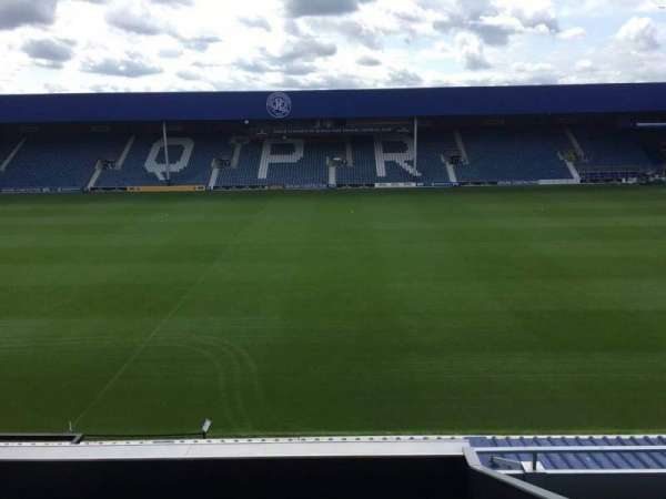 Loftus Road, section: Cclub, row: J, seat: 98