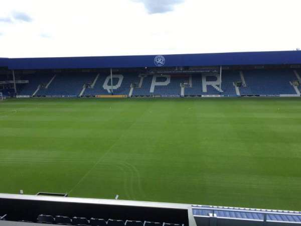 Loftus Road, section: Bc, row: M, seat: 98