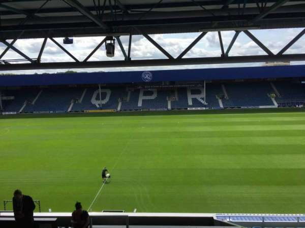 Loftus Road, section: Cc, row: T, seat: 99