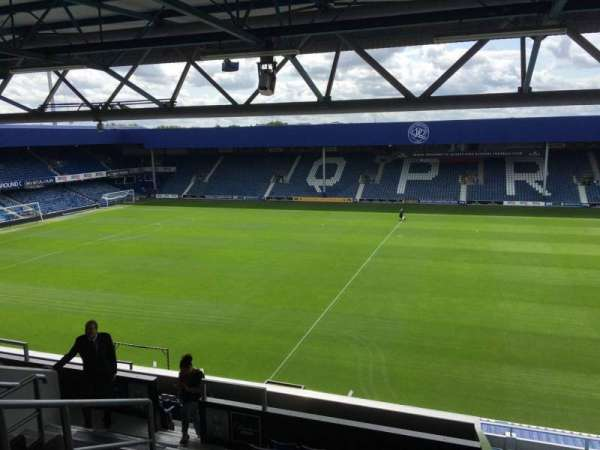 Loftus Road, section: Bc, row: T, seat: 98