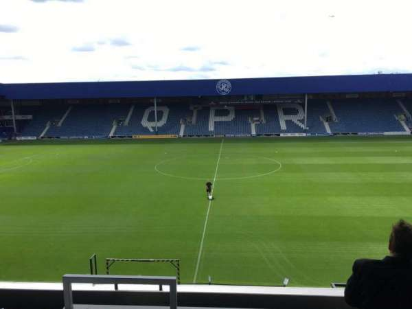 Loftus Road, section: Cc, row: L, seat: 101