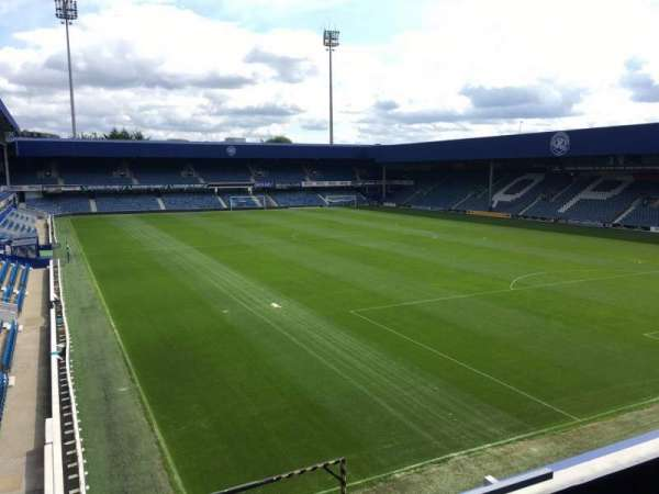 Loftus Road, section: G, row: F, seat: 210