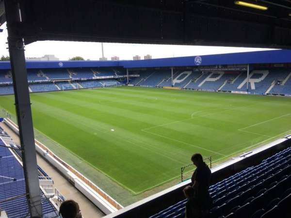 Loftus Road, section: Y1, row: L, seat: 238