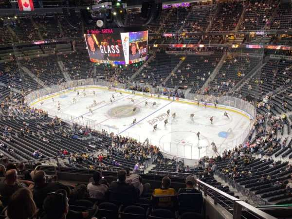 T-Mobile Arena, section: 227, row: H, seat: 9