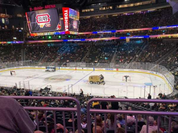 T-Mobile Arena, section: 7, row: Wc, seat: 13