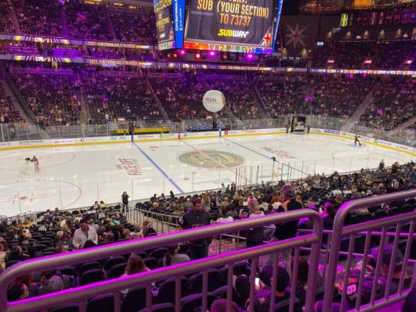 T-Mobile Arena, section: 14, row: Wc, seat: 3