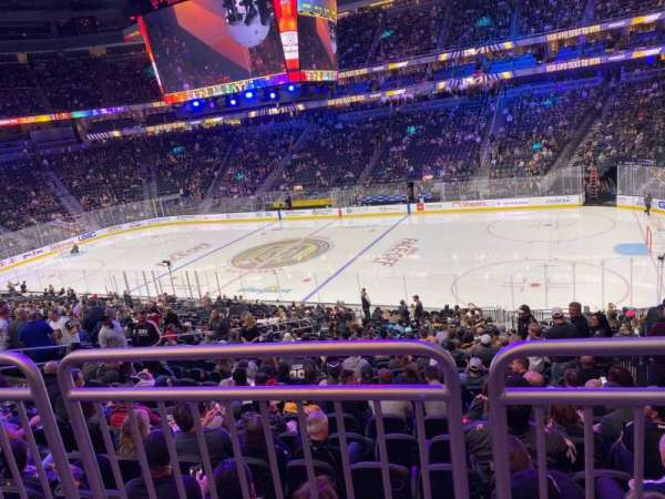 T-Mobile Arena, section: 17, row: Wc, seat: 12