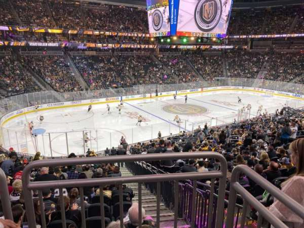 T-Mobile Arena, section: 3, row: Wc, seat: 10