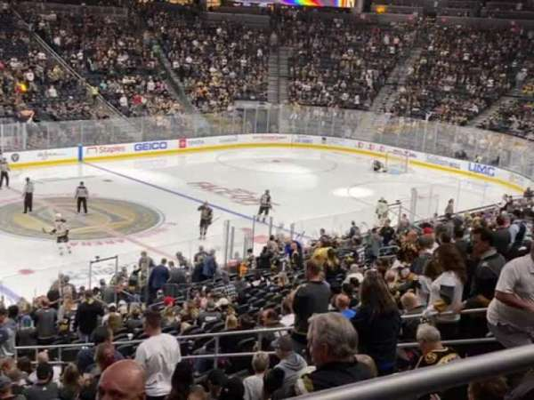 T-Mobile Arena, section: 4, row: Wc, seat: 5