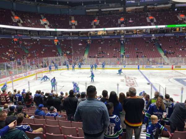 Rogers Arena, section: 118, row: 13, seat: 101