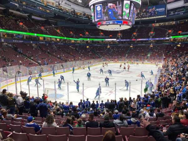 Rogers Arena, section: 121, row: 16, seat: 104