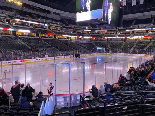 Pepsi Center, section: 108, row: 11, seat: 3