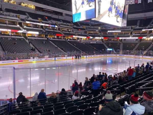 Pepsi Center, section: 106, row: 12, seat: 13