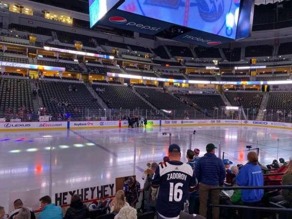Pepsi Center, section: 104, row: 8, seat: 5
