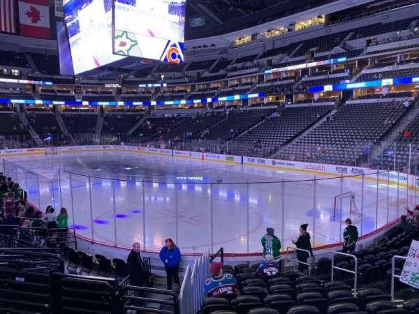 Pepsi Center, section: 142, row: 12, seat: 8