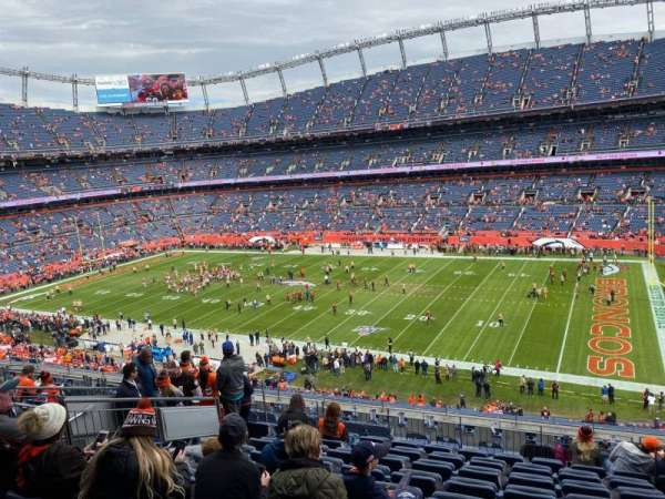 Empower Field at Mile High Stadium, section: 304, row: 13, seat: 5