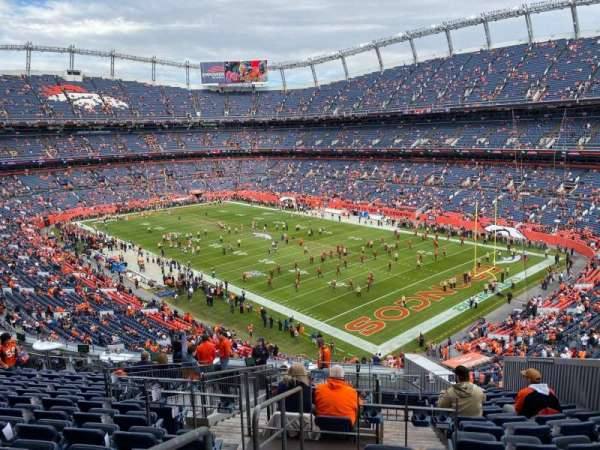 Empower Field at Mile High Stadium, section: 300, row: 16, seat: 8