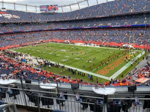 Empower Field at Mile High Stadium, section: 301, row: 7, seat: 18